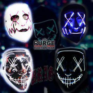 Máscara Película La Purga Ecuador Comprar Venden, Bonita Apariencia ideal para los fans, practica, Hermoso material plástico Color como en la imagen Estado nuevo