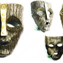 Máscara Película La Máscara Ecuador Comprar Venden, Bonita Apariencia ideal para los fans, practica, Hermoso material plástico Color café Estado nuevo