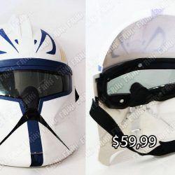 Máscara Película Star Wars Stormtrooper Ecuador Comprar Venden, Bonita Apariencia ideal para los fans, practica, Hermoso material plástico Color blanco y negro Estado nuevo