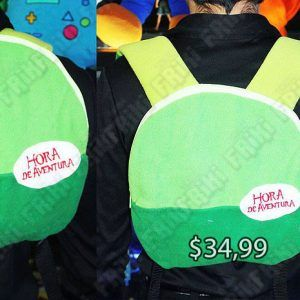 Mochila Series Hora de Aventura Finn Ecuador Comprar Venden, Bonita Apariencia ideal para salidas y paseos, practica, Hermoso material de polipropileno Color verde Estado nuevo