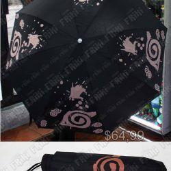 Paraguas Anime Naruto Konoha Ecuador Comprar Venden, Bonita Apariencia, útil para salir, practica, Hermoso material tela impermeable Color negro Estado nuevo