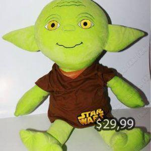 Peluche Película Star Wars Yoda Ecuador Comprar Venden, Bonita Apariencia ideal para los fans, practica, Hermoso material de poliéster Color como en la imagen Estado nuevo