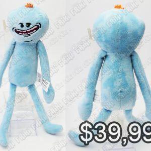 """Peluche Series Rick y Morty """"Sr. Meeseeks"""" Ecuador Comprar Venden, Bonita Apariencia perfecto para regalar, practica, Hermoso material de poliéster Color azul Estado nuevo"""