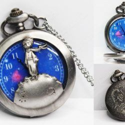 Reloj Libros El Principito Ecuador Comprar Venden, Bonita Apariencia, practica, Hermoso material bronce Color plateado Estado nuevo