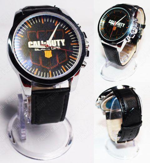 Reloj de Pulsera Videojuegos Call of Duty CoD III Ecuador Comprar Venden, Bonita Apariencia ideal para los fans, practica, Hermoso material de acero inoxidable Color negro Estado nuevo