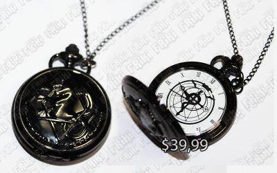 Reloj Anime Full Metal Alchemist Ecuador Comprar Venden, Bonita Apariencia perfecto para fans de la serie, practica, Hermoso material de acero inoxidable Color como en la foto Estado nuevo