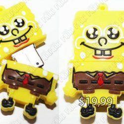 USB Series Bob Esponja Ecuador Comprar Venden, Bonita Apariencia perfecto para tareas, practica, Hermoso material de plastico, Color amarillo y café Estado nuevo