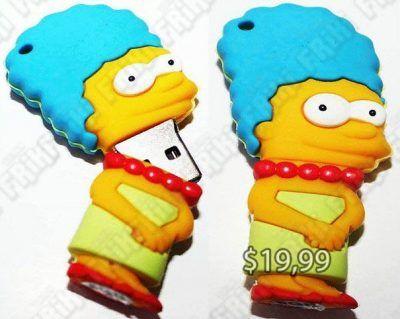 USB Series Los Simpsons Marge Ecuador Comprar Venden, Bonita Apariencia perfecto para trabajos, practica, Hermoso material de plástico Color amarillo Estado nuevo