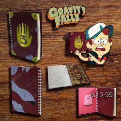 Diario Series Gravity Falls Ecuador Comprar Venden, Bonita Apariencia perfecta y útil para fans de la serie, practica, Hermoso material de papel Color café Estado nuevo