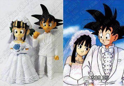 Figura Anime Dragon Ball Goku y Milk Boda Ecuador Comprar Venden, Bonita Apariencia perfecta para coleccionistas y fans de la serie, practica, Hermoso material de plástico Color como en la foto Estado nuevo