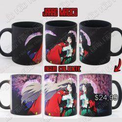 Jarro Mágico Anime Inuyasha Ecuador Comprar Venden, Bonita Apariencia ideal para los fans, practica, Hermoso material de cerámica Color negro Estado nuevo