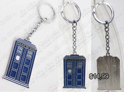 Llavero Series Doctor Who Ecuador Comprar Venden, Bonita Apariencia perfecto para regalar a fans, practica, Hermoso material de bronce niquelado Color azul Estado nuevo