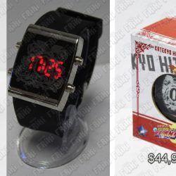Reloj de pulsera Anime Katekyo Hitman Reborn Ecuador Comprar Venden, Bonita Apariencia ideal para los fans, practica, Hermoso material de acero inoxidable Color negro Estado nuevo