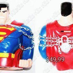 Alcancía Cómics Superman Ecuador Comprar Venden, Bonita Apariencia útil, practica, Hermoso material de plástico Color azul Estado nueva