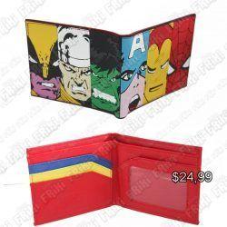Billetera Cómics Avengers Ecuador Comprar Venden, Bonita Apariencia perfecta para los fans de la serie, practica, Hermoso material de cuerina Color como en la foto Estado nuevo