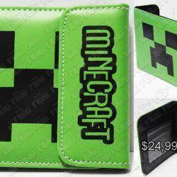 Billetera Videojuego Minecraft Creeper Ecuador Comprar Venden, Bonita Apariencia ideal para los fans, practica, Hermoso material de cuerina Color como en la imagen Estado nuevo