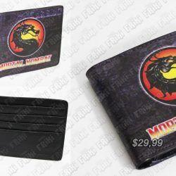 Billetera Videojuego Mortal Kombat Logo Ecuador Comprar Venden, Bonita Apariencia ideal para los fans, practica, Hermoso material de cuerina Color como en la imagen Estado nuevo