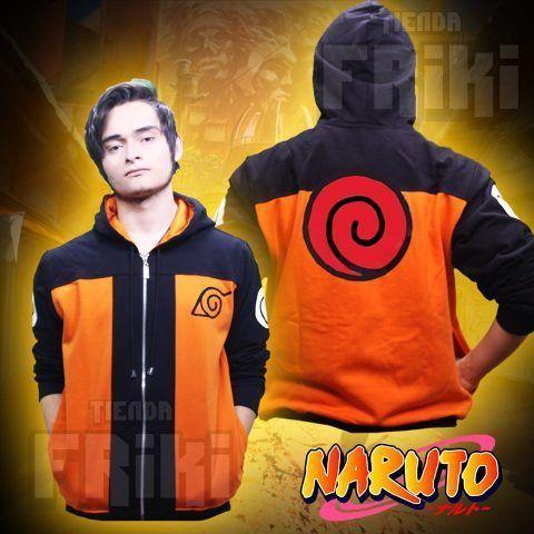 Chaqueta Anime Naruto Ecuador Comprar Venden, Bonita Apariencia ideal para los fans, practica, Hermoso material de poliéster Color anaranjado Estado nuevo
