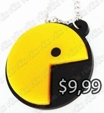 Collar Videojuegos Pacman Pacman Ecuador Comprar Venden, Bonita Apariencia ideal para los fans, practica, Hermoso material plástico Color amarillo y negro Estado nuevo