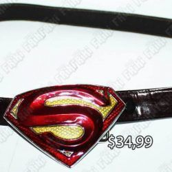 Correa Comics Superman Ecuador Comprar Venden, Bonita Apariencia ideal para los fans, practica, Hermoso material de acero inoxidable Color rojo Estado nuevo