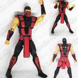 Figura Videojuego Mortal Kombat Scorpion Ecuador Comprar Venden, Bonita Apariencia ideal para los fans, practica, Hermoso material plástico Color rojo Estado nuevo