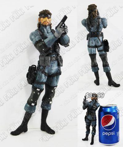 Figura Videojuego Metal Gear Solid Snake Ecuador Comprar Venden, Bonita Apariencia ideal para los fans, practica, Hermoso material plástico Color como en la imagen Estado nuevo
