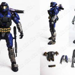 Figura Videojuegos Halo Spartan Azul Ecuador Comprar Venden, Bonita Apariencia ideal para los fans, practica, Hermoso material plástico Color azul Estado nuevo