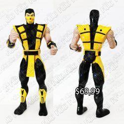 Figura Videojuego Mortal Kombat Scorpion Ecuador Comprar Venden, Bonita Apariencia ideal para los fans, practica, Hermoso material plástico Color amarillo Estado nuevo
