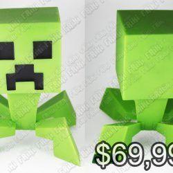 Figura Videojuego Minecraft Creeper Ecuador Comprar Venden, Bonita Apariencia ideal para los fans, practica, Hermoso material plástico Color como en la imagen Estado nuevo