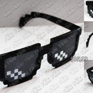 Gafas Videojuegos Minecraft Negro Ecuador Comprar Venden, Bonita Apariencia ideal para los fans, practica, Hermoso material plástico Color negro Estado nuevo