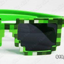 Gafas Videojuegos Minecraft Verde Ecuador Comprar Venden, Bonita Apariencia ideal para los fans, practica, Hermoso material plástico Color verde Estado nuevo
