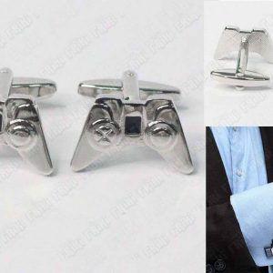 Gemelos Videojuegos Consola Mando PS1 Ecuador Comprar Venden, Bonita Apariencia de mando de PS1, practica, Hermoso material de bronce niquelado Color plata Estado nuevo