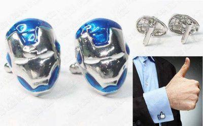 Gemelos Cómics Iron Man Ecuador Comprar Venden, Bonita Apariencia de mando de PS1, practica, Hermoso material de bronce niquelado Color plata y azul Estado nuevo