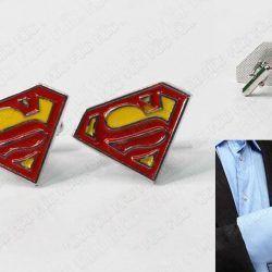 Gemelos Cómics Superman Ecuador Comprar Venden, Bonita Apariencia perfecto para los fans de la serie, practica, Hermoso material de bronce niquelado Color rojo Estado nuevos