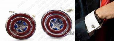 Gemelos Cómics Capitán América Ecuador Comprar Venden, Bonita Apariencia de mando de PS1, practica, Hermoso material de bronce niquelado Color rojo, plata y azul Estado nuevo