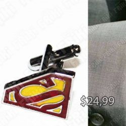 Gemelos Cómics Superman Ecuador Comprar Venden, Bonita Apariencia perfecto para los fans de la serie, practica, Hermoso material de bronce niquelado Color negro Estado nuevos