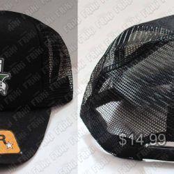 Gorra Videojuegos Grand Theft Auto V Logo Ecuador Comprar Venden, Bonita Apariencia ideal para los fans, practica, Hermoso material de algodón Color negro Estado nuevo