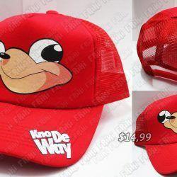 Gorra Videojuegos Sonic Uganda Knuckles Ecuador Comprar Venden, Bonita Apariencia ideal para los fans, practica, Hermoso material de algodón Color rojo Estado nuevo