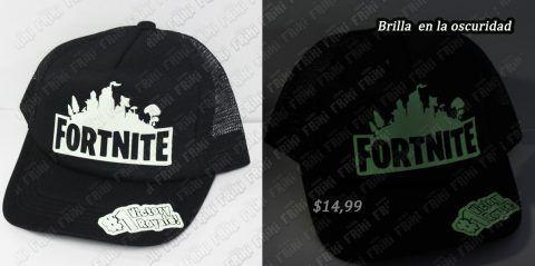 Gorra Videojuegos Fortnite Logo Ecuador Comprar Venden, Bonita Apariencia ideal para los fans, practica, Hermoso material de algodón y buckram Color negro y blanco Estado nuevo