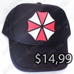 Gorra Videojuegos Resident Evil Umbrella Ecuador Comprar Venden, Bonita Apariencia ideal para los fans, practica, Hermoso material de algodón Color negro Estado nuevo