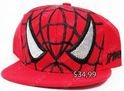 Gorra Cómics Spiderman Ecuador Comprar Venden, Bonita Apariencia perfecta para salir y demostrar tu apoyo a la serie, practica, Hermoso material de algodón y buckram Color roja y negro