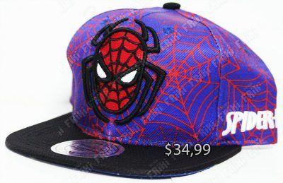 Gorra Cómics Spiderman Ecuador Comprar Venden, Bonita Apariencia perfecta para salir y demostrar tu apoyo a la serie, practica, Hermoso material de algodón y buckram Color morado