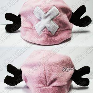 Gorro Anime One Piece Chooper Ecuador Comprar Venden, Bonita Apariencia, practica, Hermoso material lana Color rosa Estado nuevo