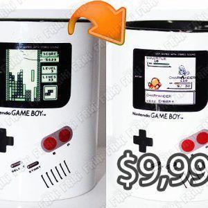 Jarro Videojuegos Consola Game Boy Ecuador Comprar Venden, Bonita Apariencia de game boy, practica, Hermoso material de cerámica Color blanco Estado nuevo