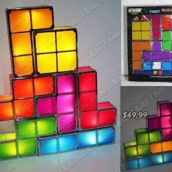 Lampara Videojuegos Tetris Piezas Ecuador Comprar Venden, Bonita Apariencia perfecta para una experiencia única, practica, Hermoso material de plástico y acero Color como en la foto Estado nuevo
