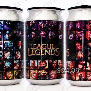 Latas Videojuegos League of Legends Campeones Ecuador Comprar Venden, Bonita Apariencia de los campeones de LoL, practica, Hermoso material de aluminio Color como en la imagen Estado nuevo