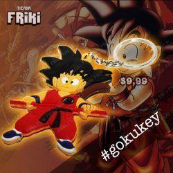 Llavero Anime Dragon Ball Goku Ecuador Comprar Venden, Bonita Apariencia de espada, practica, Hermoso material de plastico Color como en la foto Estado nuevo