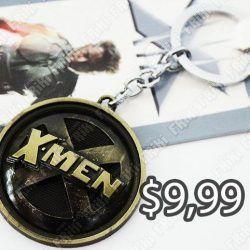 Llavero Comics X-Men Logo Ecuador Comprar Venden, Bonita Apariencia perfecto para decorar tus pertenencias, practica, Hermoso material de bronce niquelado Color dorado Estado nuevo