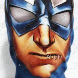 Máscara Cómics Capitán América Ecuador Comprar Venden, Bonita Apariencia perfecta para los fans practica, Hermoso material poliéster Color como en la foto Estado nuevo