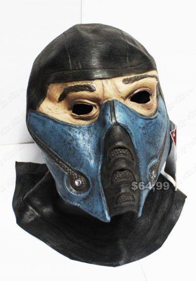Máscara Videojuegos Mortal Kombat Sub Zero Ecuador Comprar Venden, Bonita Apariencia ideal para los fans, practica, Hermoso material plástico Color como en la imagen Estado nuevo